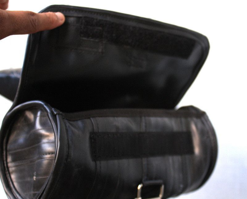 Look no further for a versatile and stylish saddle bag for your bike. Never leave home without your bike tools....