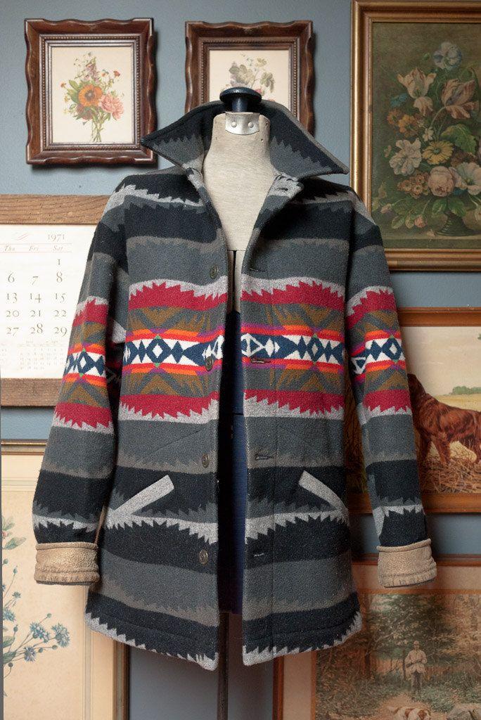 mens blanket coat