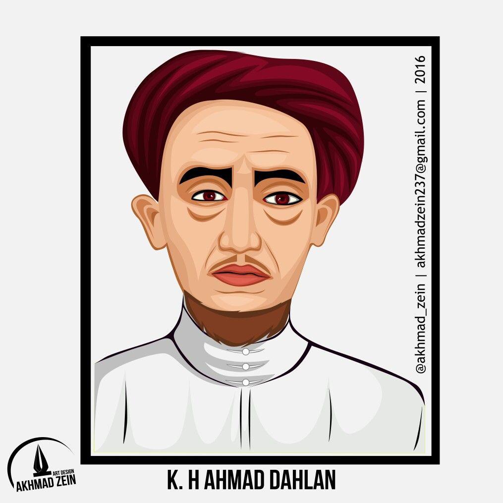 Gambar Pahlawan Kh Ahmad Dahlan