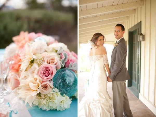 Coral Pink Wedding Theme - Unique Wedding Ideas