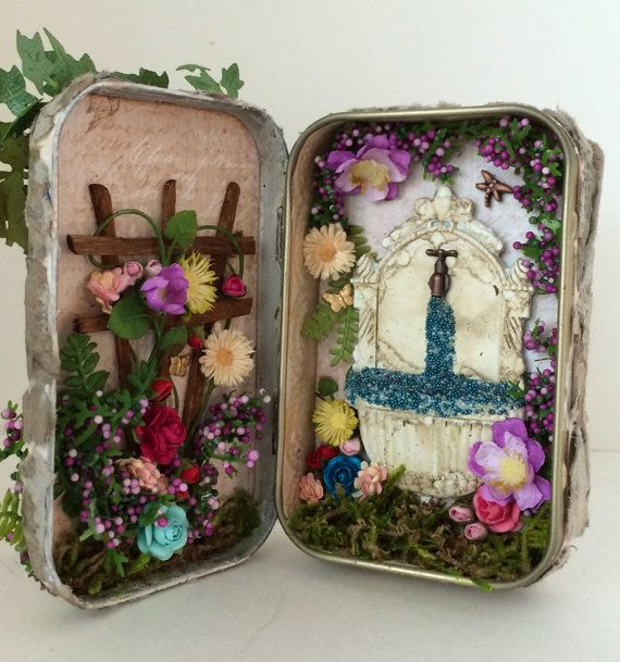 Based on The Secret Garden Book: Altered Tin