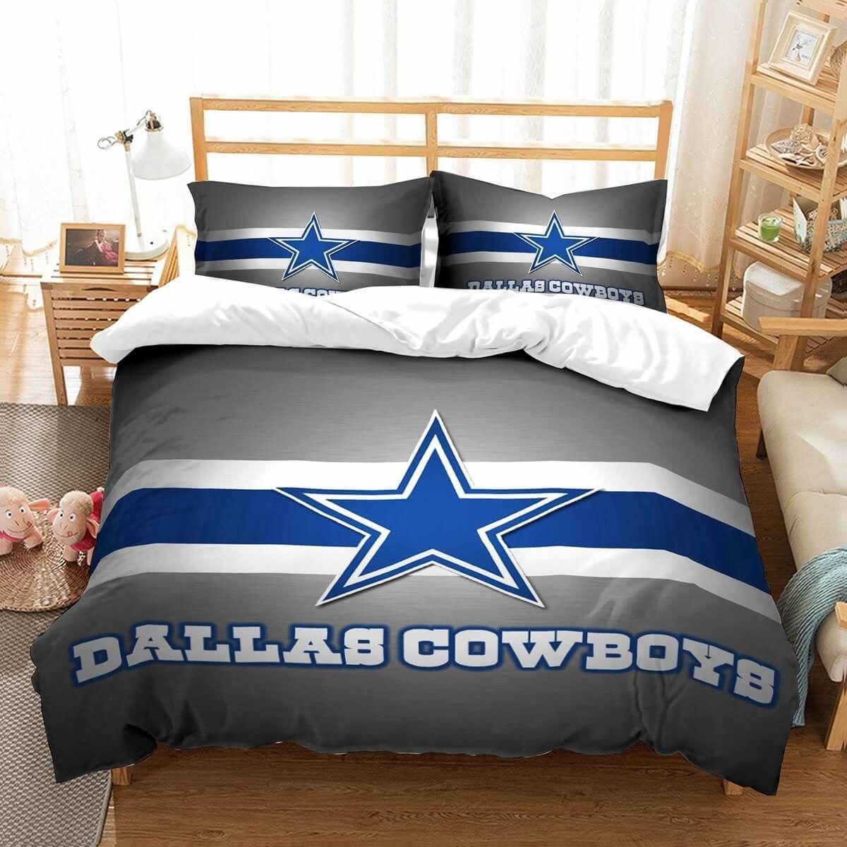 3D Customize Dallas Cowboys Bedding Set Duvet Cover Set