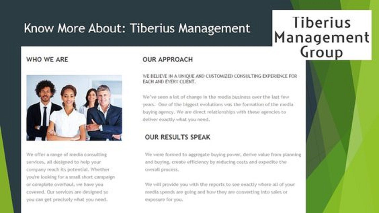 Tiberius Management has join f6s Visit Link https//www