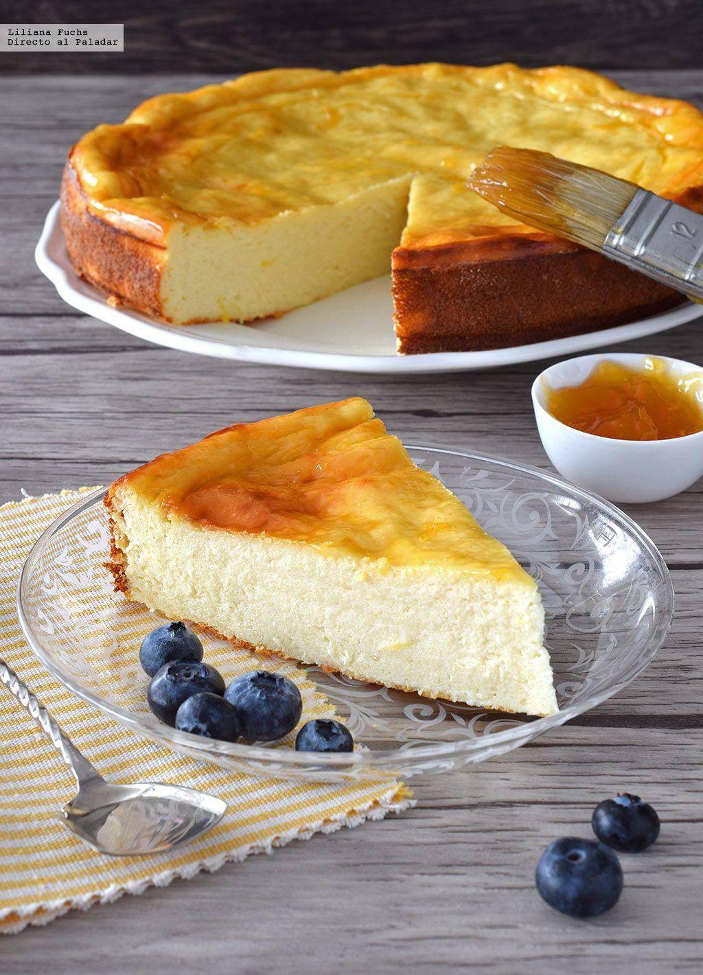 Tarta de queso y yogur al limón. Receta fresquita de postre