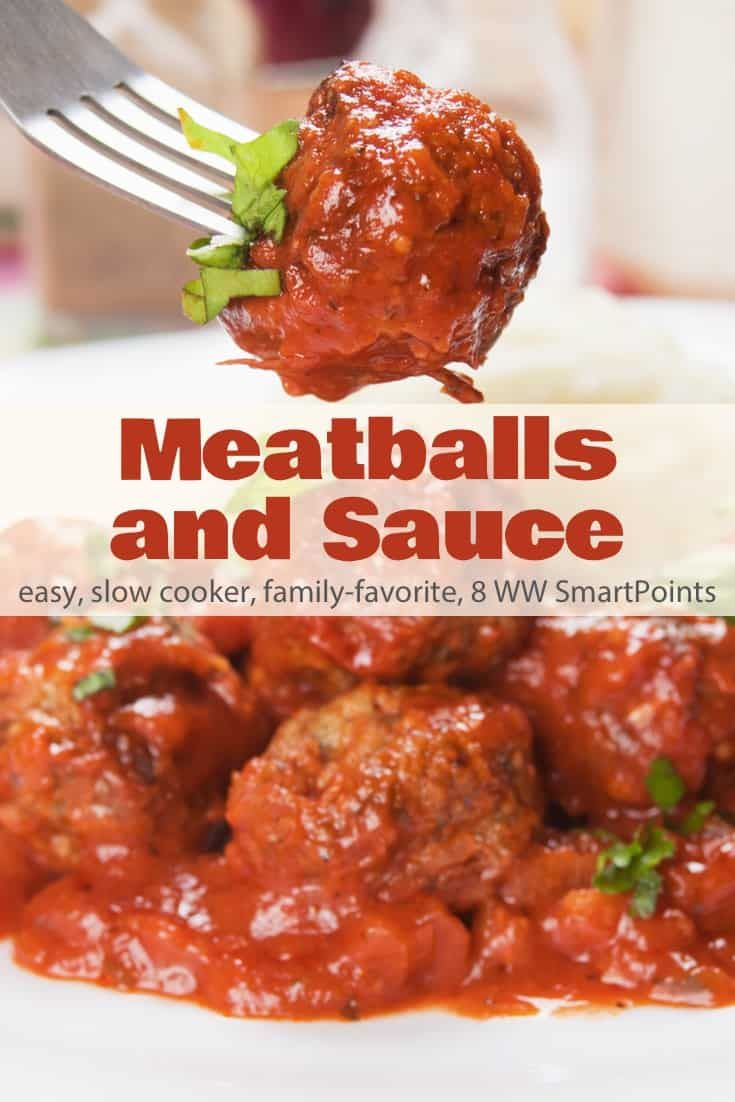 Easy Slow Cooker Meatballs & Sauce Recipe | Simple Nourished Living