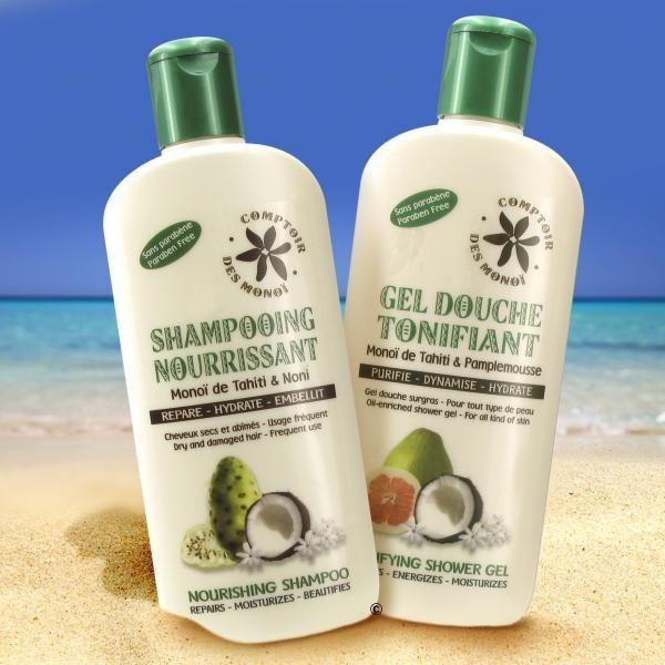 Duo Shampoo Geldouche Comptoir Monoi 250ml La Boutique Du Monoi Monoi Monoi De Tahiti Shampoo