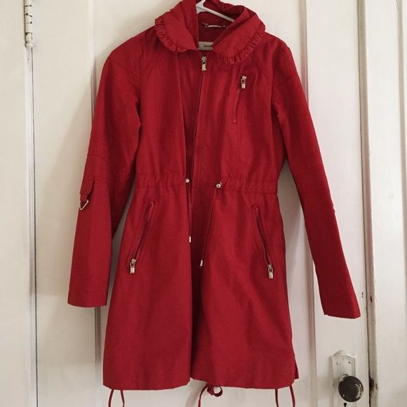 Laundry By Design Red Coat Red Coat Coat Clothes Design