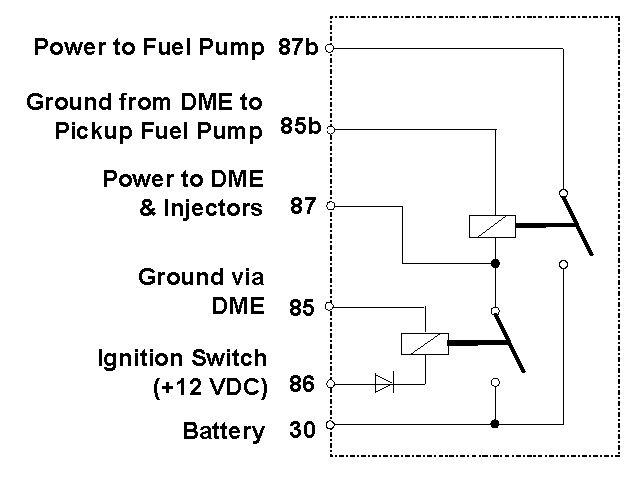 Porsche 944 Dme Relay Circuit Diagram