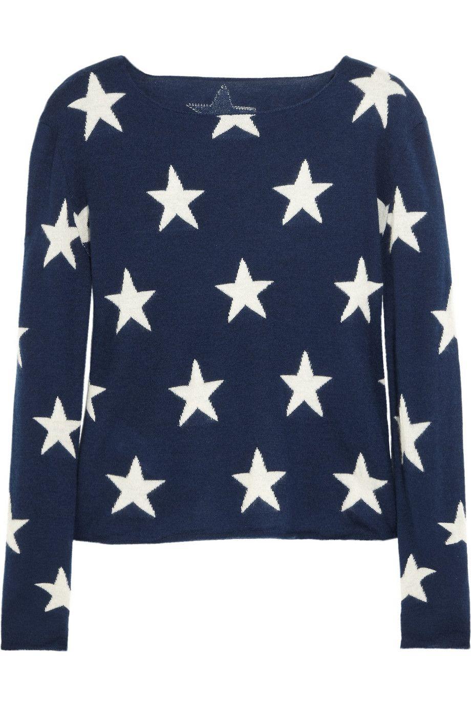 Banjo u Matilda  Starintarsia cashmere sweater  NETAPORTERCOM
