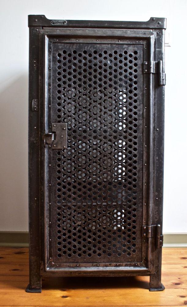 rowac werkzeugschrank bauhaus shipping worldwide metal cabinet in antiquit ten kunst. Black Bedroom Furniture Sets. Home Design Ideas