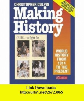 pdf culpin history making christopher book