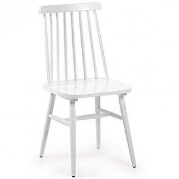 Chaise Tressia blanc Projet maison Pinterest