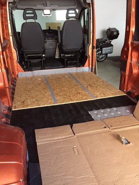 Boden Im Wohnmobil Kastenwagen Wohnmobil Camping Ausbau