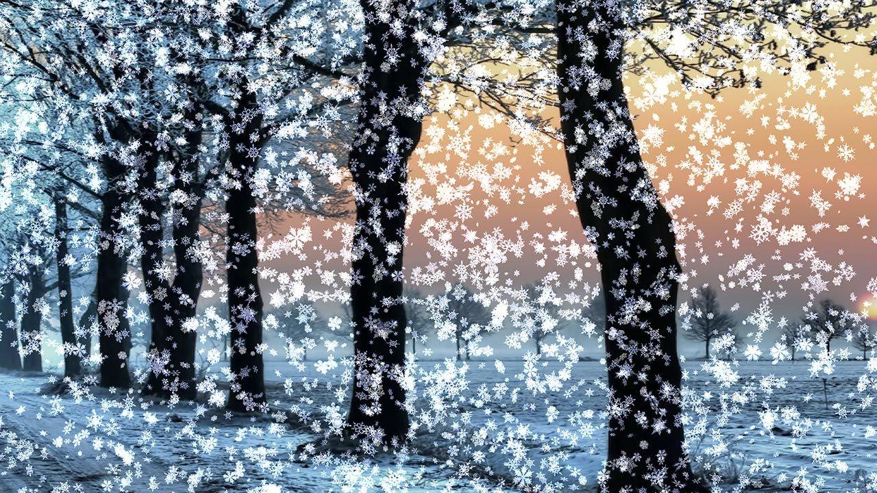 Картинки анимационные снег