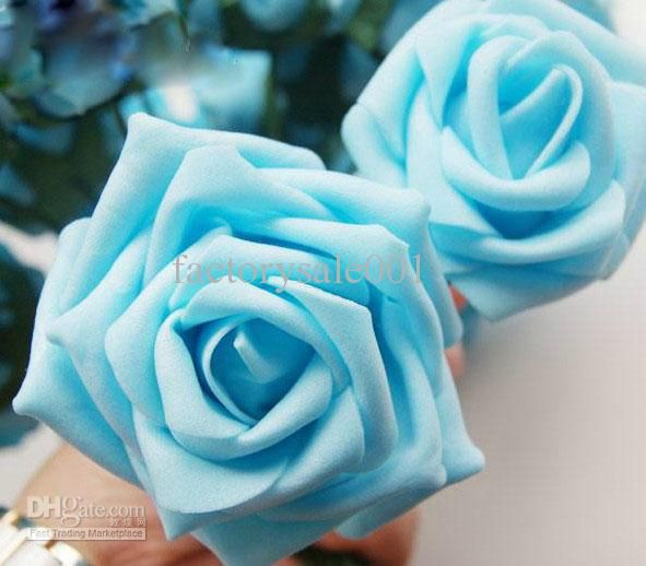 Buy cheap Newest handing bouquets Light blue in wedding ...
