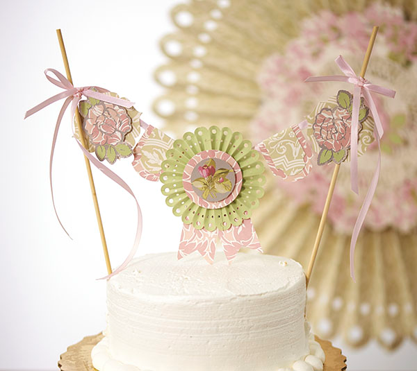 Anna Griffin Cake Topper | Baby Shower | Pinterest | Cake toppers ...