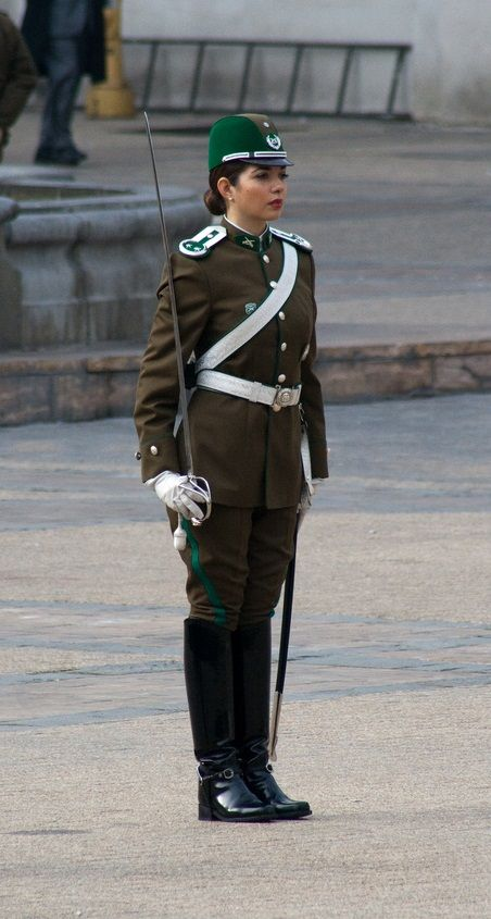 Chile Police Carabineros Woman In 2019 Military Women