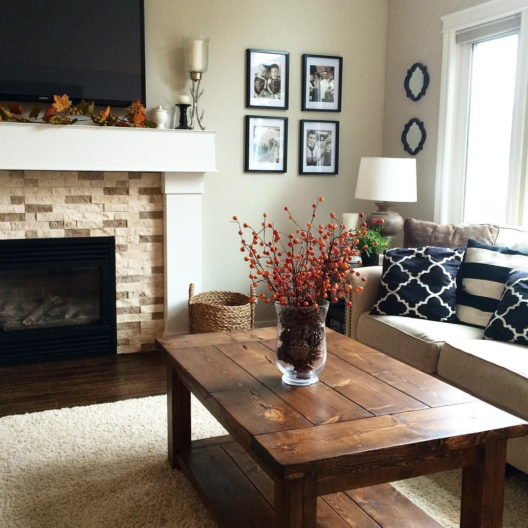 unexpected fall decorating ideas | charcoal walls, eclectic