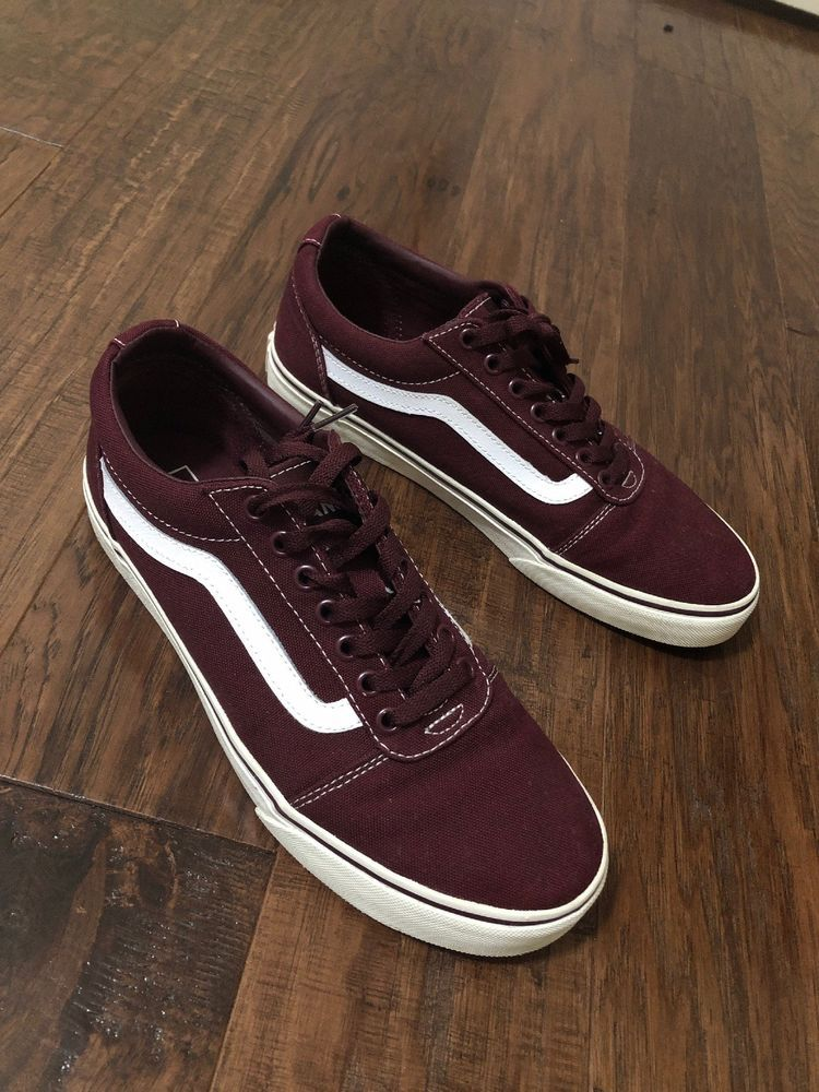 131139a0d5199c Maroon  Cardinal Old Skool Vans  fashion  clothing  shoes  accessories   mensshoes  casualshoes (ebay link)