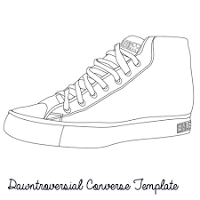 image result for sneaker template printable shoes pinterest