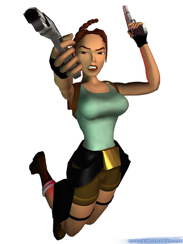Old Style Lara Croft Picture Of Tomb Raider Iii The