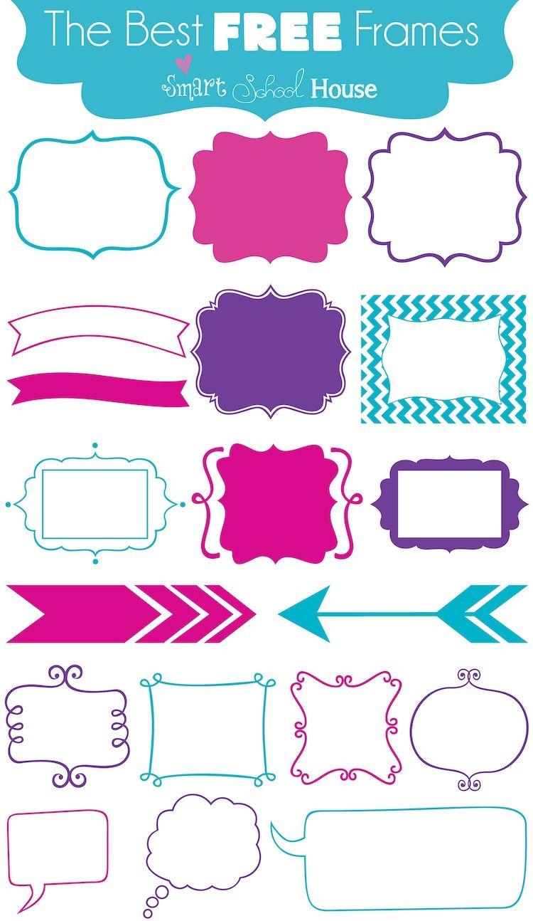 The Best Free Frames (font download) | Clip Art | Pinterest ...