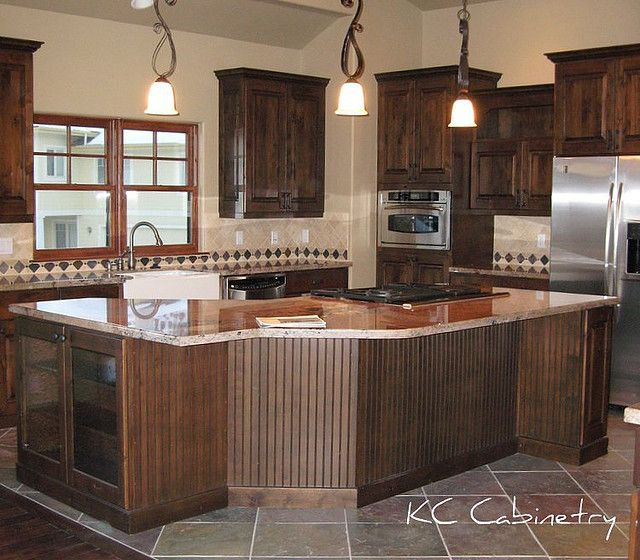 Kitchen Trends Knotty Alder Kitchen Cabinets: Knotty Alder Cabinets And Granite