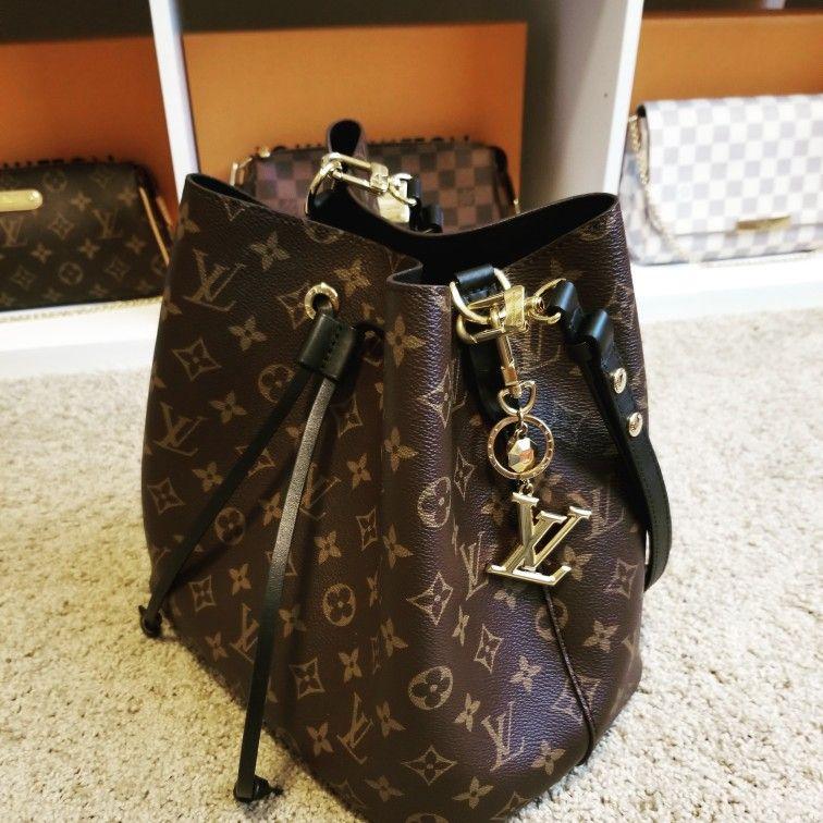 Louis Vuitton Neo Noe Noir Lvluxdelight Louis Vuitton Louis Vuitton Bucket Bag Louis Vuitton Neonoe