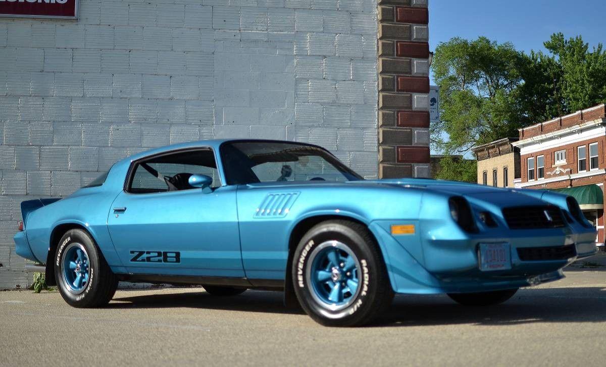 A Beauty In Blue 1979 Chevrolet Camaro Z28 Chevrolet Camaro