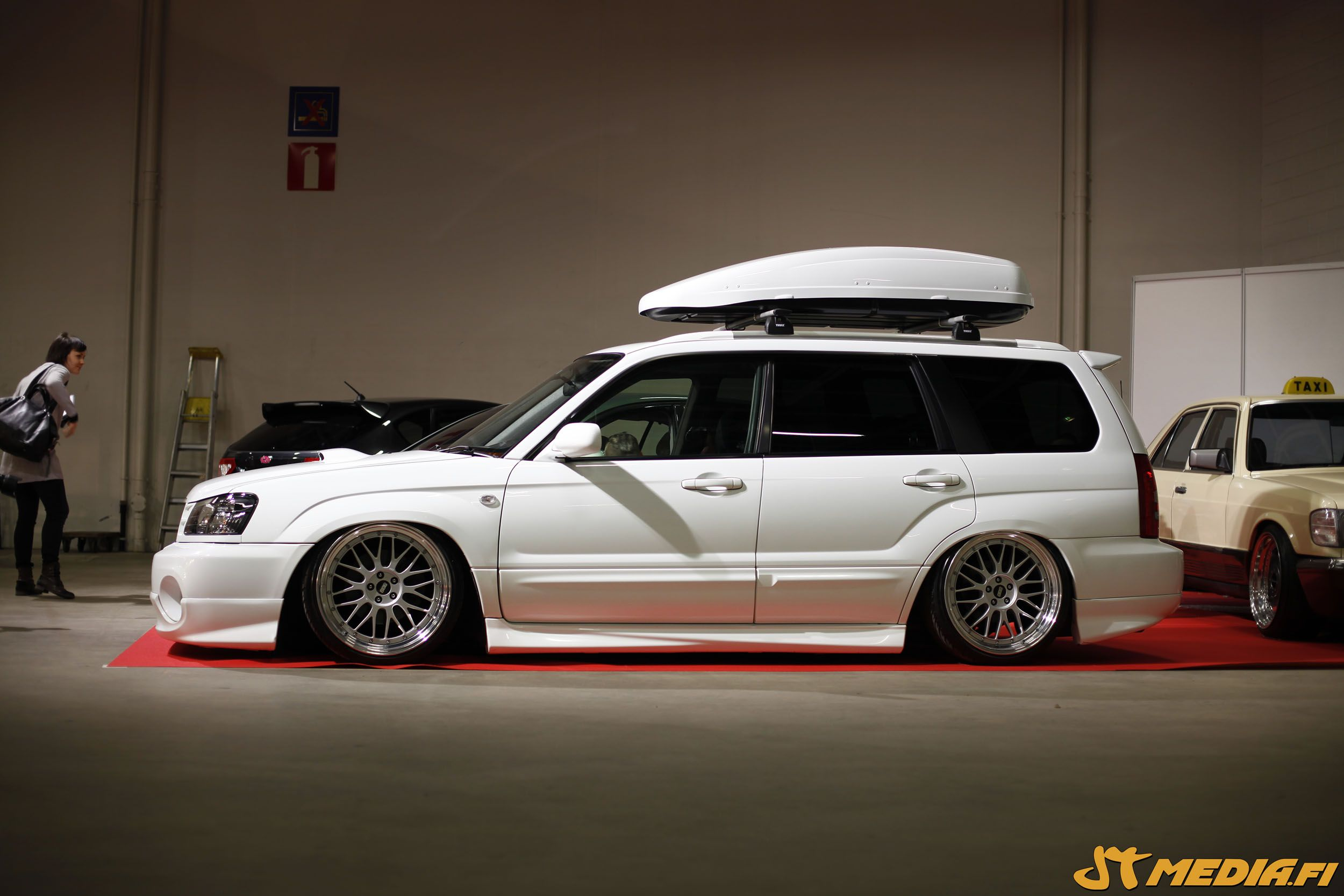 Slammed Forester Wagon Dropped Subaru Cars、subaru