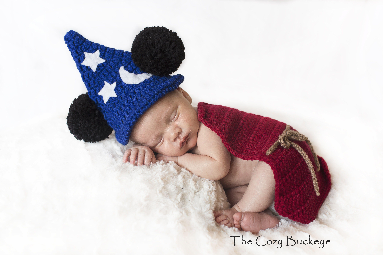 Instant Download Crochet Pattern - Fantasia Cape Set - Newborn Prop ...