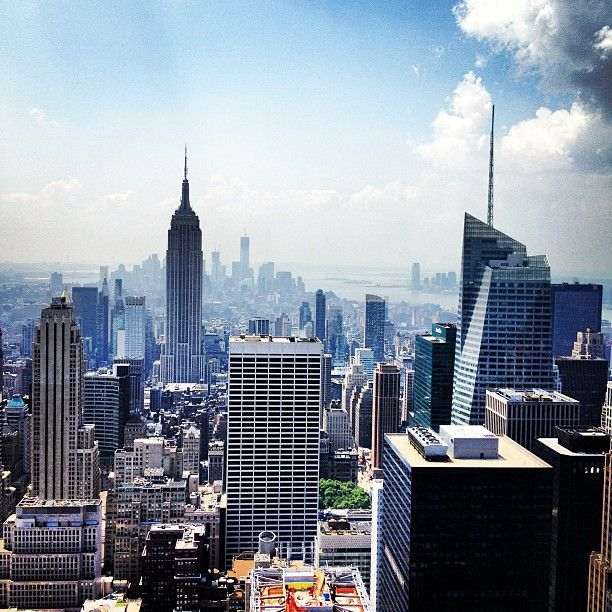 "@justyole's photo: ""Empire state of mind."