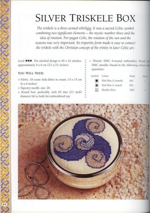 Gallery.ru / Фото #24 - Anne Orr & Lesley Clarke - Celtic Cross Stitch - anfisa1