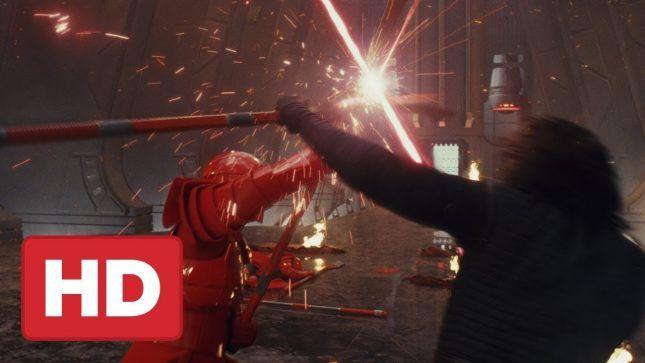 Mira la Escena del Trono de Star Wars: Los Últimos Jedi