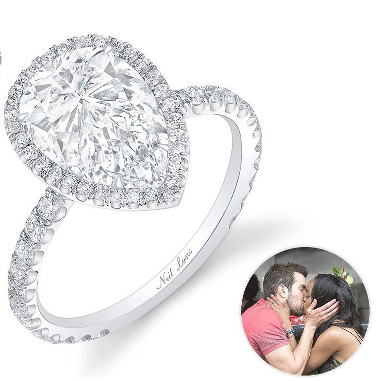 5b8c830b2 Bachelorette Rachel Lindsay Engagement Ring - click through to see more  photos!