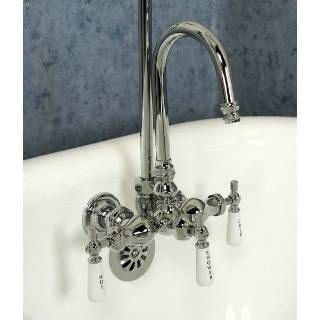 Claw Foot Tub Faucet With Diverter Clawfoot Tub