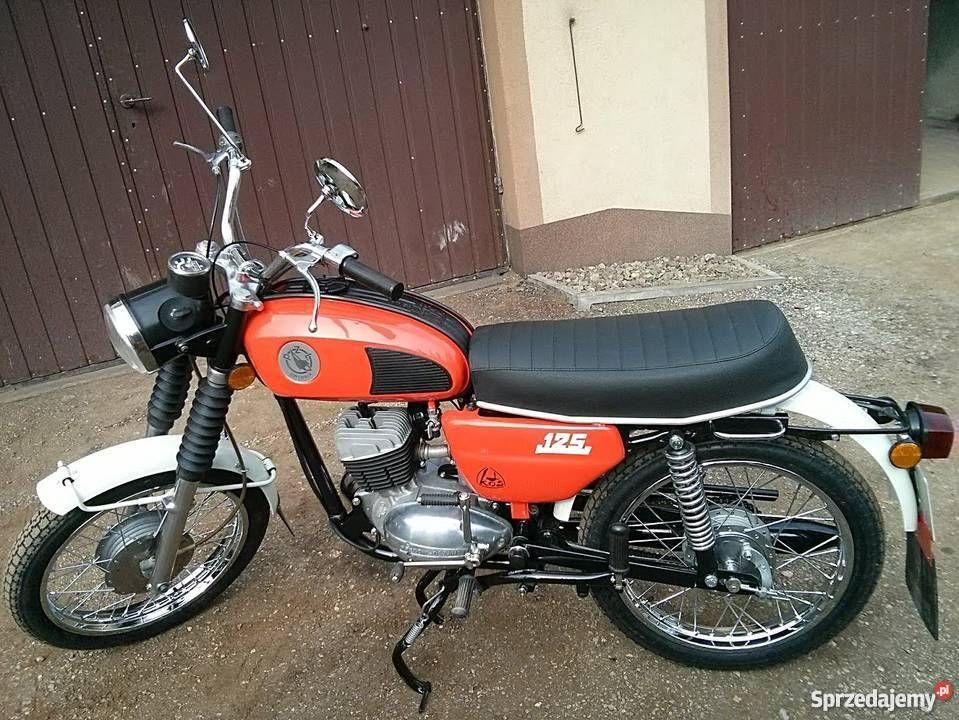 Wsk 125 M06b3 Oraz Kos Idealne Jak Nowe Zarejestrowane Cool Bikes Motorcycle Bike