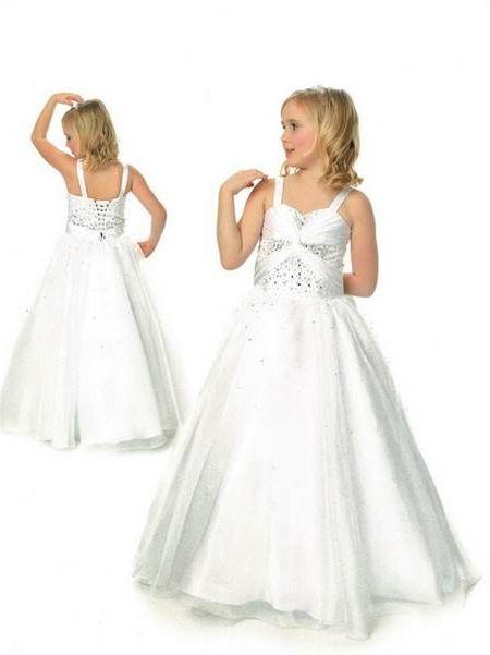 White Formal Dresses For Girls Fashion Dresses