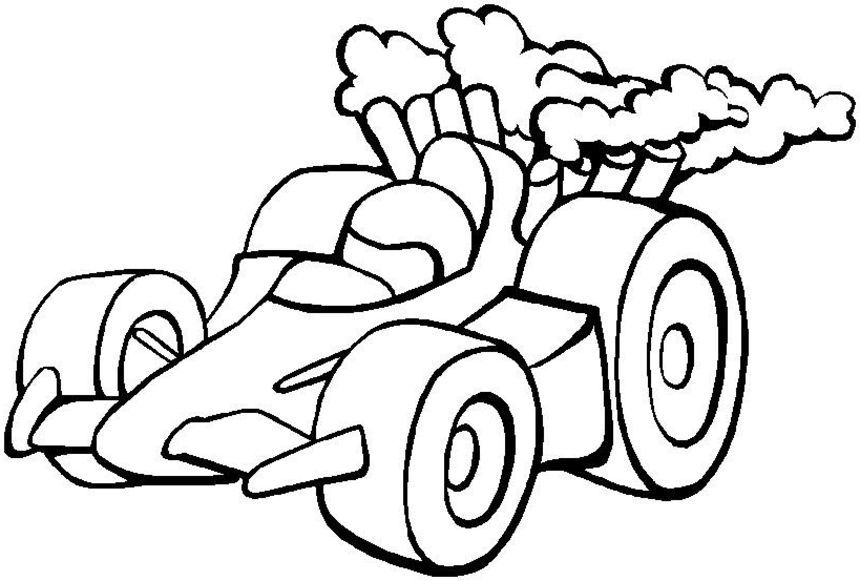 Rage Car Coloring Sheets Race Car Coloring Pages 4 Race Car