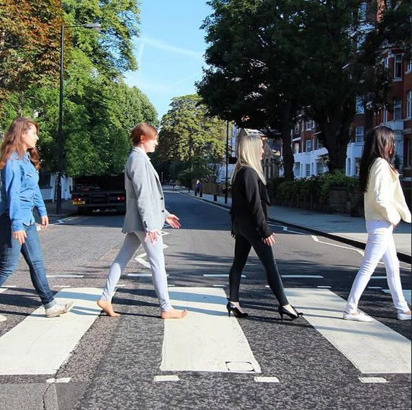 Recognise This Lexiebar Missknock And Other Viatorstaff Recreated The Beatles Original Abbey Road Album Cover This Mo Summer Staycation Viator Staycation