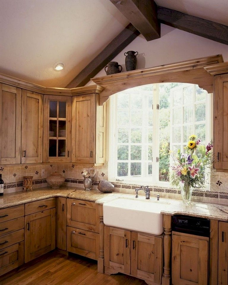 67+ The Top Rustic Farmhouse Kitchen Cabinets Ideas