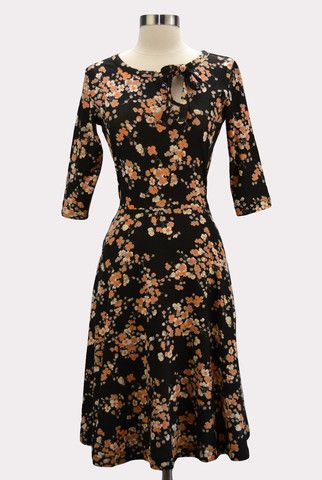 Blooming Orchard Dress | modern vintage style clothing, fashion tips and advice | Hourglass Boutique