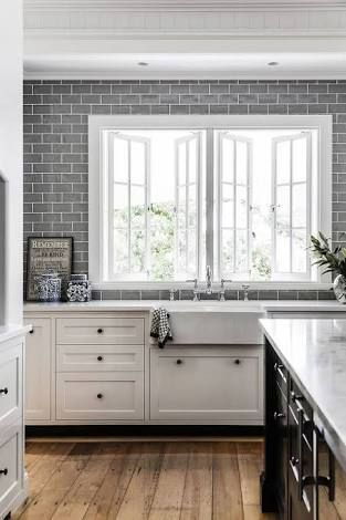 Image Result For Matte Grey Subway Tile Australia Kitchen Cabinet Design Home Kitchens Kitchen Design
