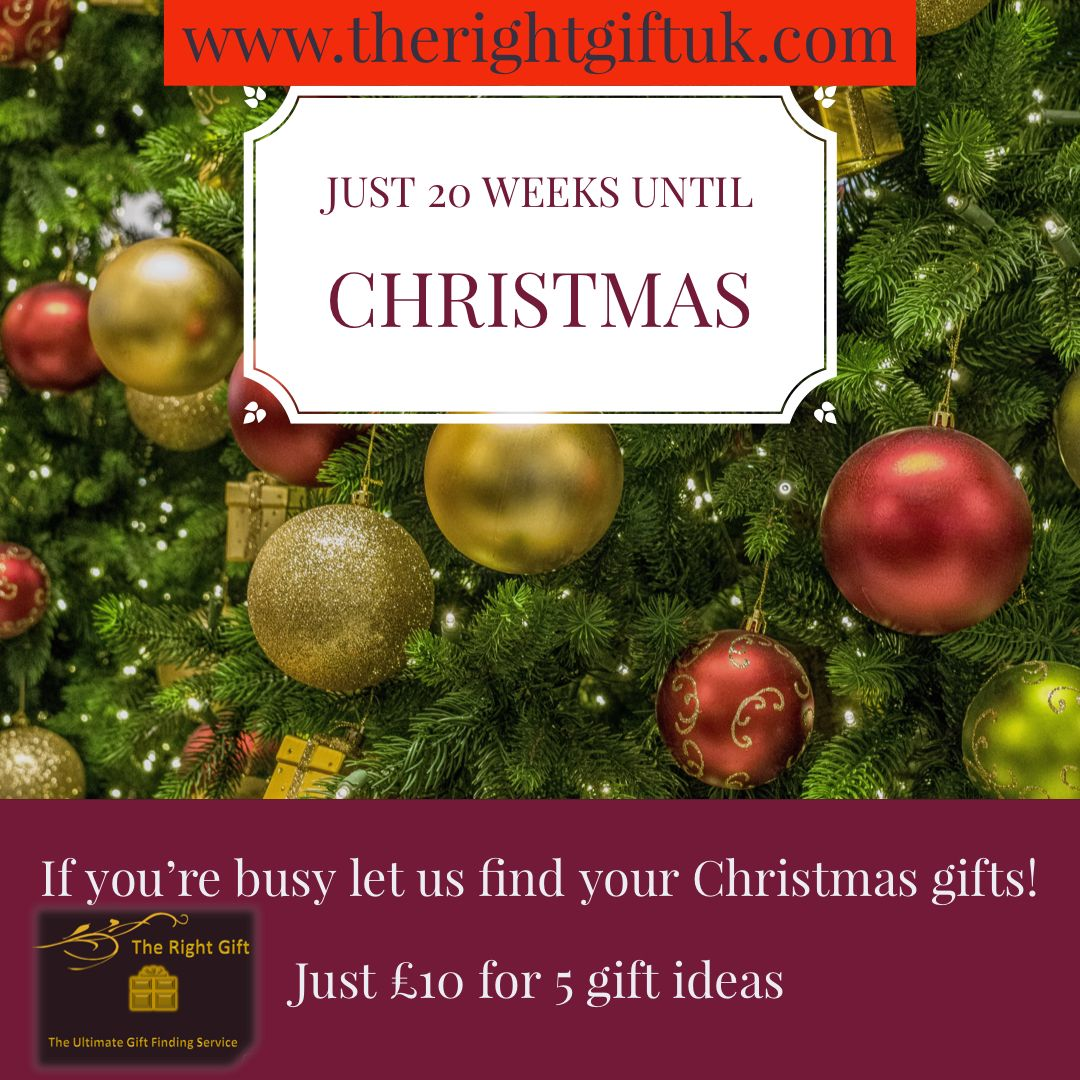 Just 20 weeks until Christmas. Let us find your gift ideas. #christmas #christmascountdown #20weekstogo #christmasideas #christmasgiftsideas #instachristmas #xmas #christmasgifts #christmasgift #christmasideas #countdown #countdowntochristmas #christmassy #countdownbegins instachristmas #instachristmas #celebrate