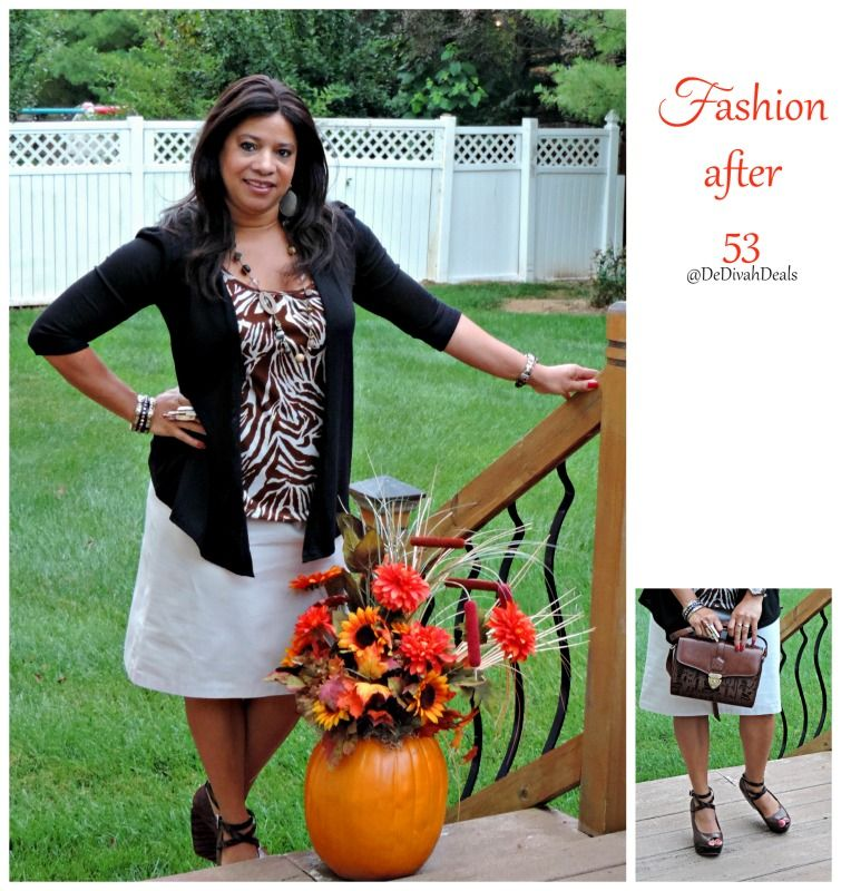 Fashion after Fifty #ootd #dressforless #fashionafter53 #autumnattire #DelawareBlogger @dedivahdeals