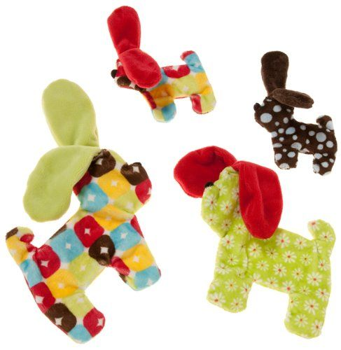 West Paw Design Floppy Dog Squeak Toy For Dogs Assorted West Paw