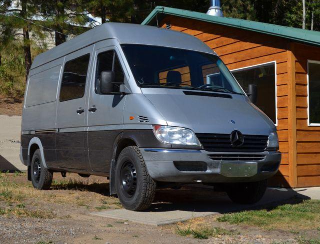 Three Adventurers Now Call A Sprinter Home Diy Sprinter Camper