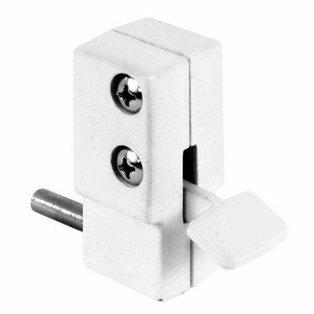 Defender Security U 9879 Sliding Door Lock White Finish In 2020