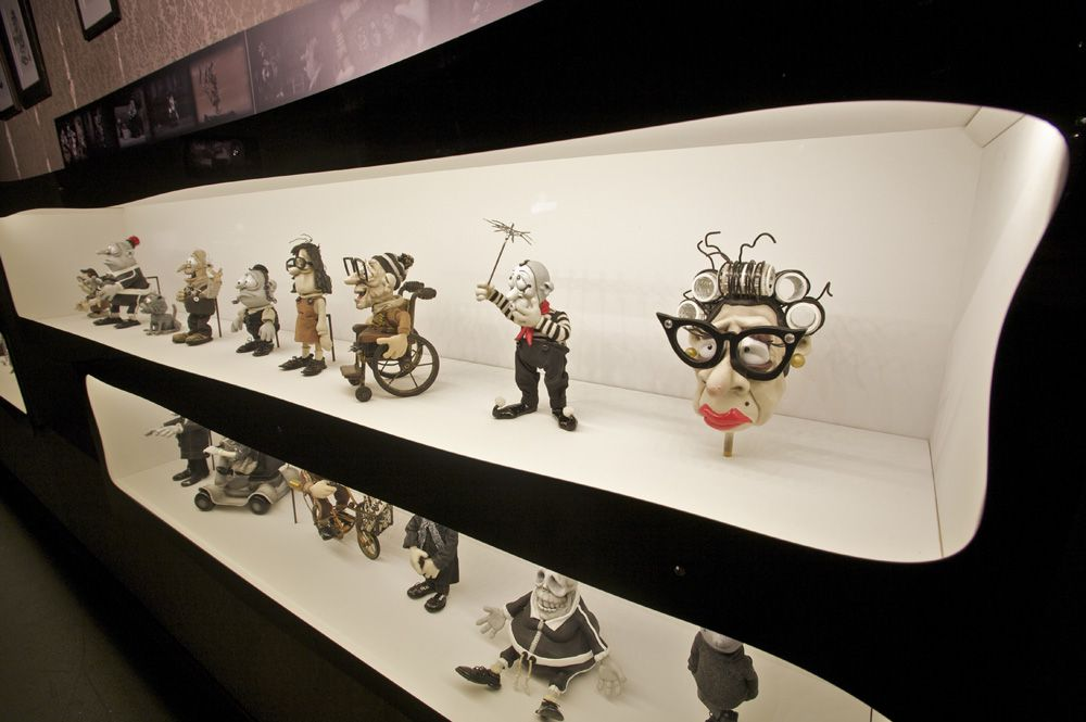 Mary And Max Stop Motion Animation Behind The Scenes Exhibition One Of The Best Films Mary And Max Stop Motion Exhibition