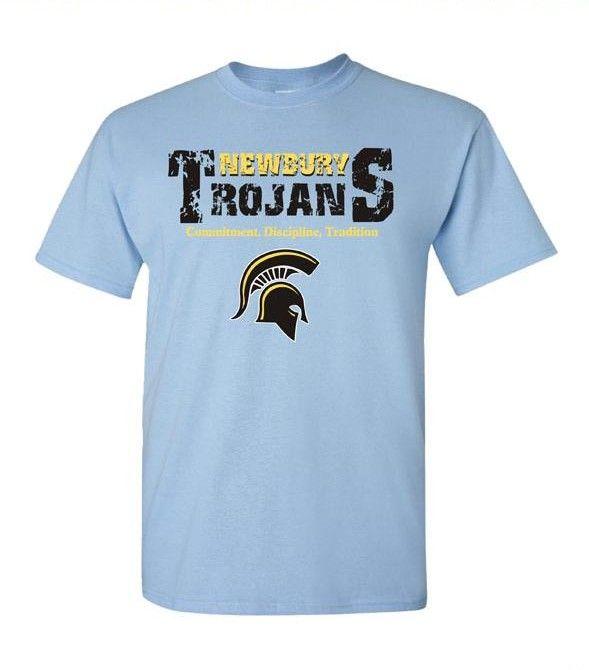 Trojans Spiritwear T-Shirt Design. School Spiritwear ...